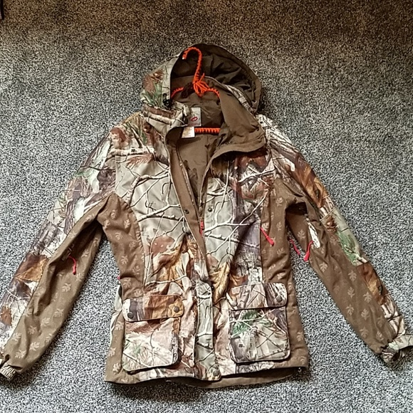 0d74341f6ee1a Cabela's Jackets & Coats | Cabelas Outfither Camo Insulated Coat ...
